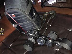Nikon D3000 and Accessories