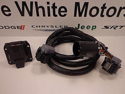 13-18 Dodge Ram 2500 3500 Trailer Wiring Kit Gooseneck 5th Wheel Mopar New -