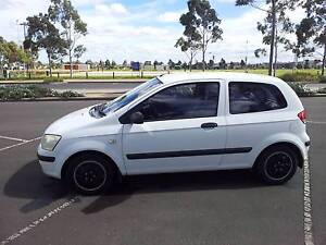2003 Hyundai Getz Hatchback,Auto with rego. Taylors Lakes Brimbank Area Preview