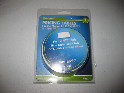 Avery Monarch Model 110511071110 Pricemarker Labels Mnk925036