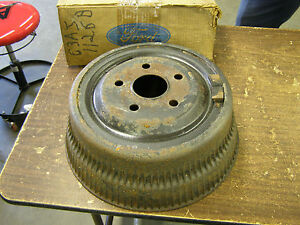 NOS OEM Ford 1963 1964 Galaxie 500 Rear Brake Drum