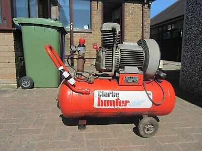 Clark Hunter air compressor 50lt Tank