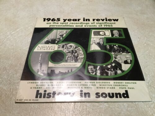XXX RARE SEALED RECORD 1964 History in Sound Martin luther King U Thant LBJ