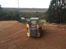 Bobcat skid steer excavator builder clean up site prep tipper $90 Flaxton Maroochydore Area Preview