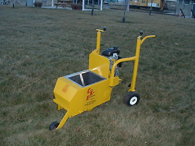 Landscape Curbing Machine - Curb King Twin Auger 3 Hp Honda Made In The Usa