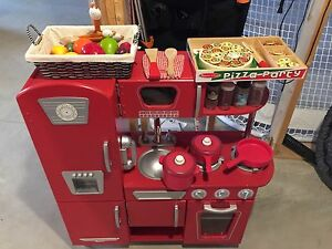 Kidcraft Retro Kitchen Mellisa Doug Pizza Party Fruit
