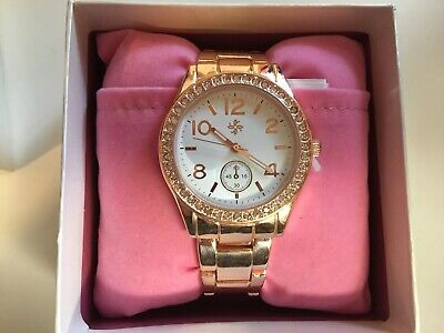 NIB Women's Pink Watch Icing Brand- Watch on Pink Pillow - Retails for $24.50
