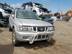 Holden Frontera 2002 - NOW WRECKING! MANY PARTS AVAILABLE. Thomastown Whittlesea Area Preview