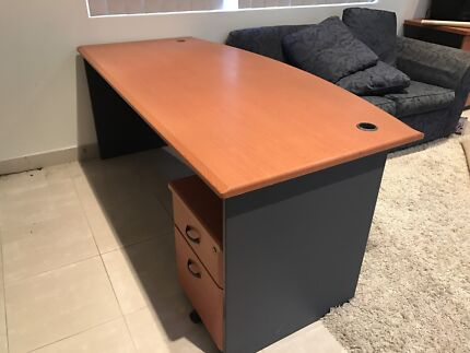 timber office furniture. Timber Look Office Furniture Set   Desks Gumtree Australia Liverpool Area - Prestons 1181633759