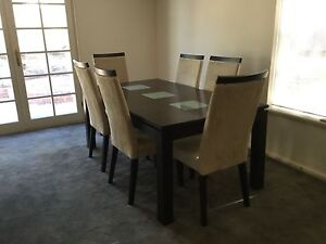 Dining Room Table with 6 chairs Claremont Nedlands Area Preview