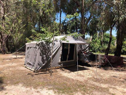 Ezytrail sof floor camper trailer Maryknoll Cardinia Area Preview