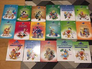 Disney Literature Classics 17 books RARE