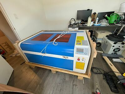Hl 1060 100w Co2 Laser Cutting Engraving Machine Us Local Pickup Only