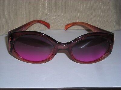 Designer Christian Dior Pink Sunglasses  Comic Strip 82x  54  21 135  Vintage (Christian Designer Sunglasses)
