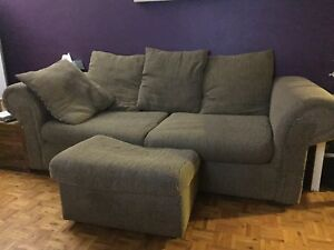 Couch, ottoman and reclining chair- $50 OBO