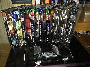 Supernatural first 9 Seasons DVDs plus 1/24 model of 'baby'