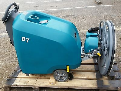 Used Tennant B7 27 Inch Battery Powered Walk Behind Burnisher Under 300 Hours