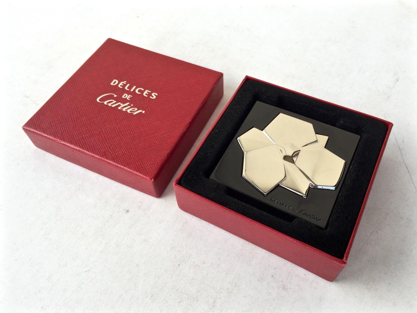 Specchio da viaggio Cartier borsa mirar bag mirior de sac purse mirror delices