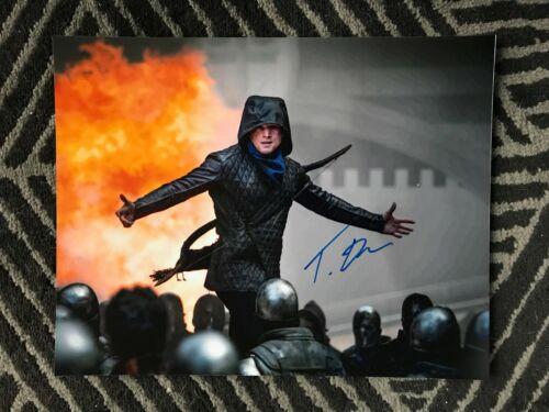 Robin Hood Taron Egerton Autographed Signed 11x14 Photo COA #6