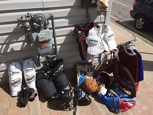 Hockey Equipment-Almost complete set $40
