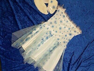 Kostüm Damen Gr.38 Fasching  Eisprinzessin Glitzer Sexy süß Stern