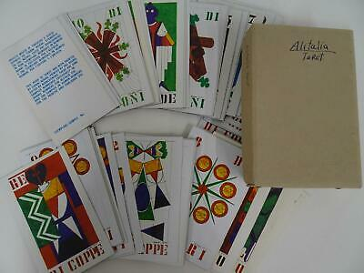 Alitalia Tarot Cards Limited Edition Gianni Novak 1973 Italy Dal Negro - $149.99