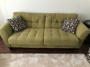 Complete set of sofa, love seat and recliner