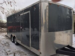 2010 20x8.5 Enclosed Trailer