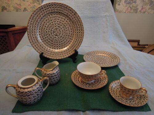 Antique Oriental Dinnerware Set