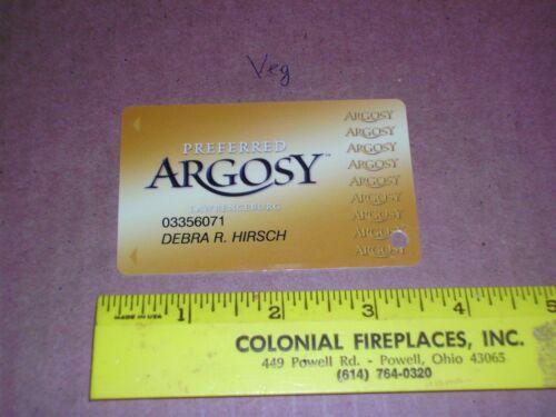 Lawrenceburg Indiana Gaming Company Casino Argosy motel hotel preferred gold