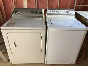 Washer and Dryer (Top Load)