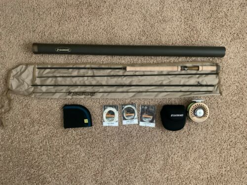 SAGE 3110-4 TROUT SPEY HD AND REEL