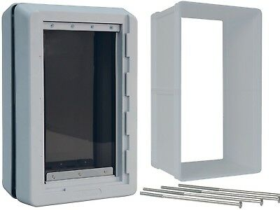 Ideal Pet Products Designer Series Ruff Weather Dog Door & WALL KIT---ALL (Wall Dog Doors)