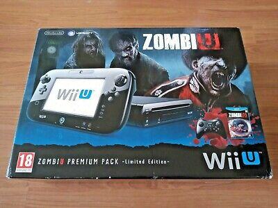 Nintendo Wii U Console Premium 32GB Zombi U Pack - Fully Tested