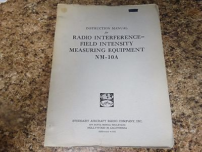 Stoddart Nm-10a Instruction Manual