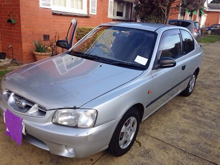 2000 Hyundai Accent, Manual Malvern Stonnington Area Preview