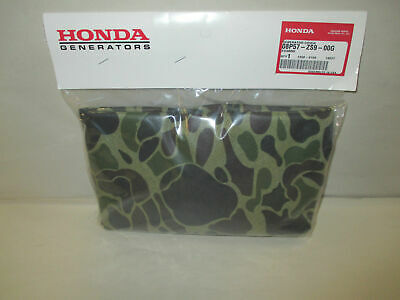 Genuine Honda 08p57-zs9-00g Camouflage Generator Cover Fits Eu3000is Oem
