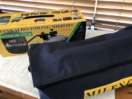 Towing mirrors Milenco brand new in box
