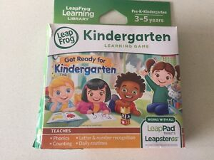 Leap pad 3 with kindergarten game