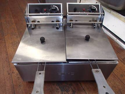 BIRKO - Twin bench deep fryer