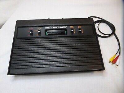 """Atari 2600 """" Vader """" Console only A/V Modded Seller Refurbished"""