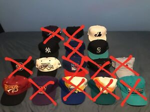 Vintage SnapBacks / Fitteds / Caps / Hats *COLLECTION SALE*