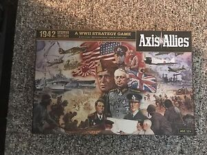 Axis and Allies 1942 Board Game