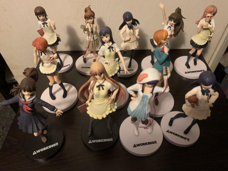 Huge Working!! Anime Figure Lot