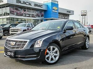 2015 Cadillac ATS AWD, TURBO, SUNROOF, LOW MILEAGE *GREAT CONDIT