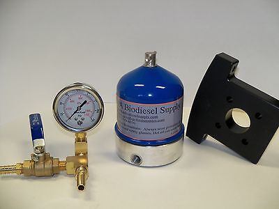 55 Gph Centrifuge Wbrass Gauge And Bracket For Wvo Oil And Biodiesel