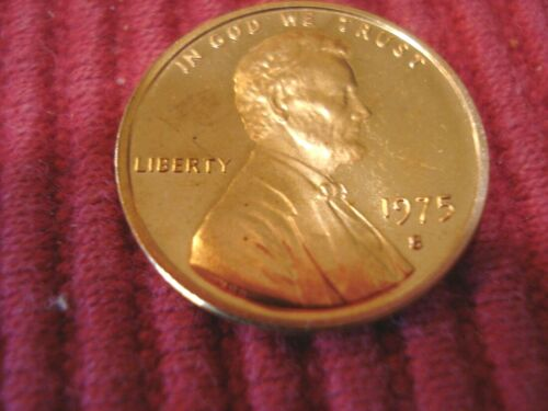 1975 S Lincoln Gem Proof Penny