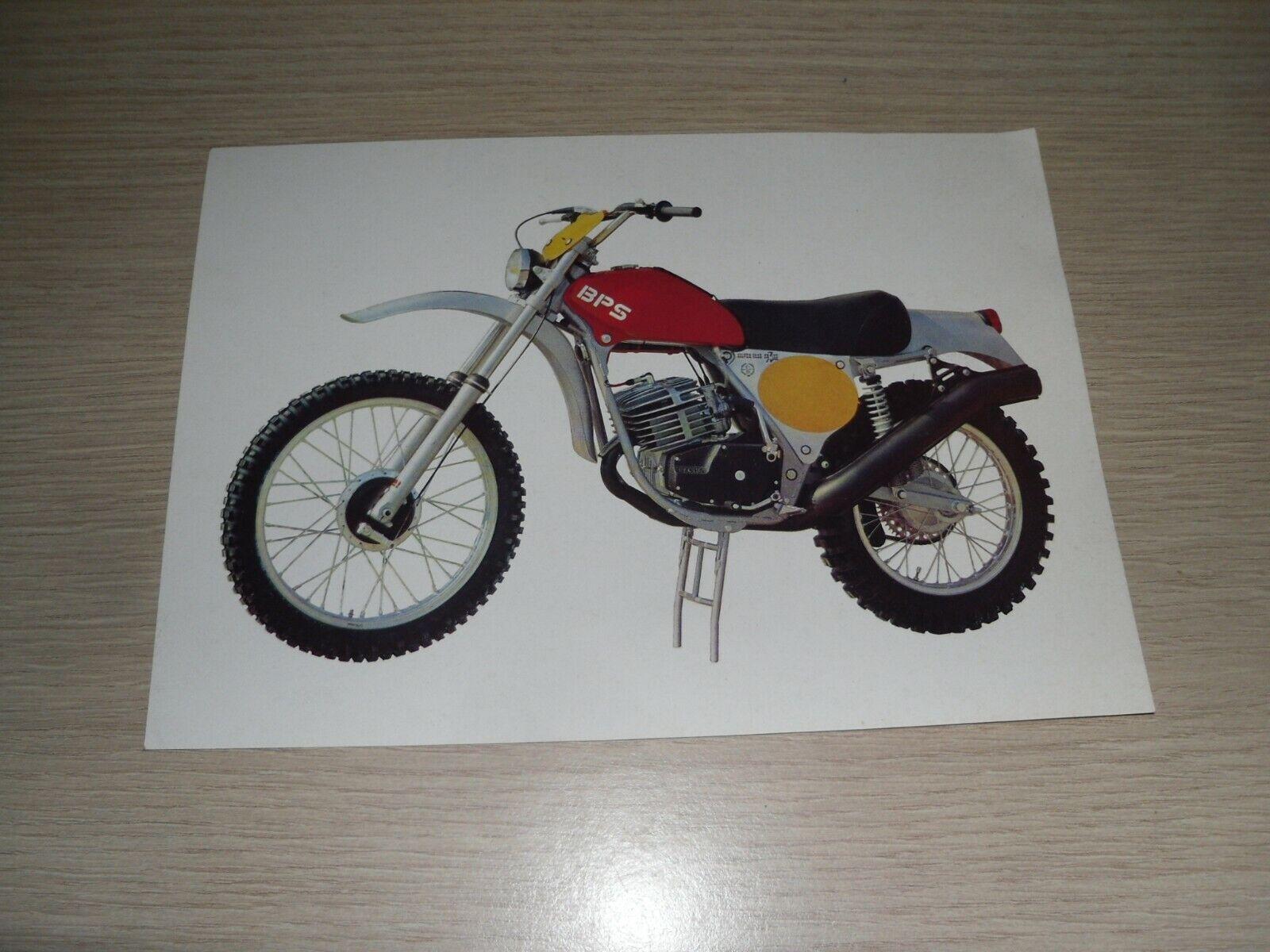 Photo, documentation moto  vintage bps enduro silver vase 125cc