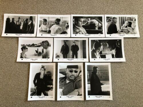 Out of Sight 1998 Movie Lobby card set Japan George Clooney Jennifer Lopez