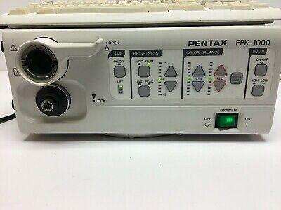 Pentax Epk-1000 Endoscope Processor W Keyboardosh4 Water Bottle Assy Endoscopy